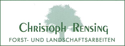 Logo Rensing Forst- und Landschaftsarbeiten